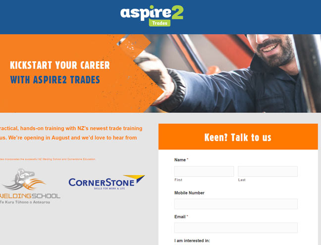 Trades Education Website